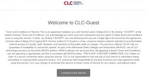 CLC-Guest Wireless Network – CLC Technology Support