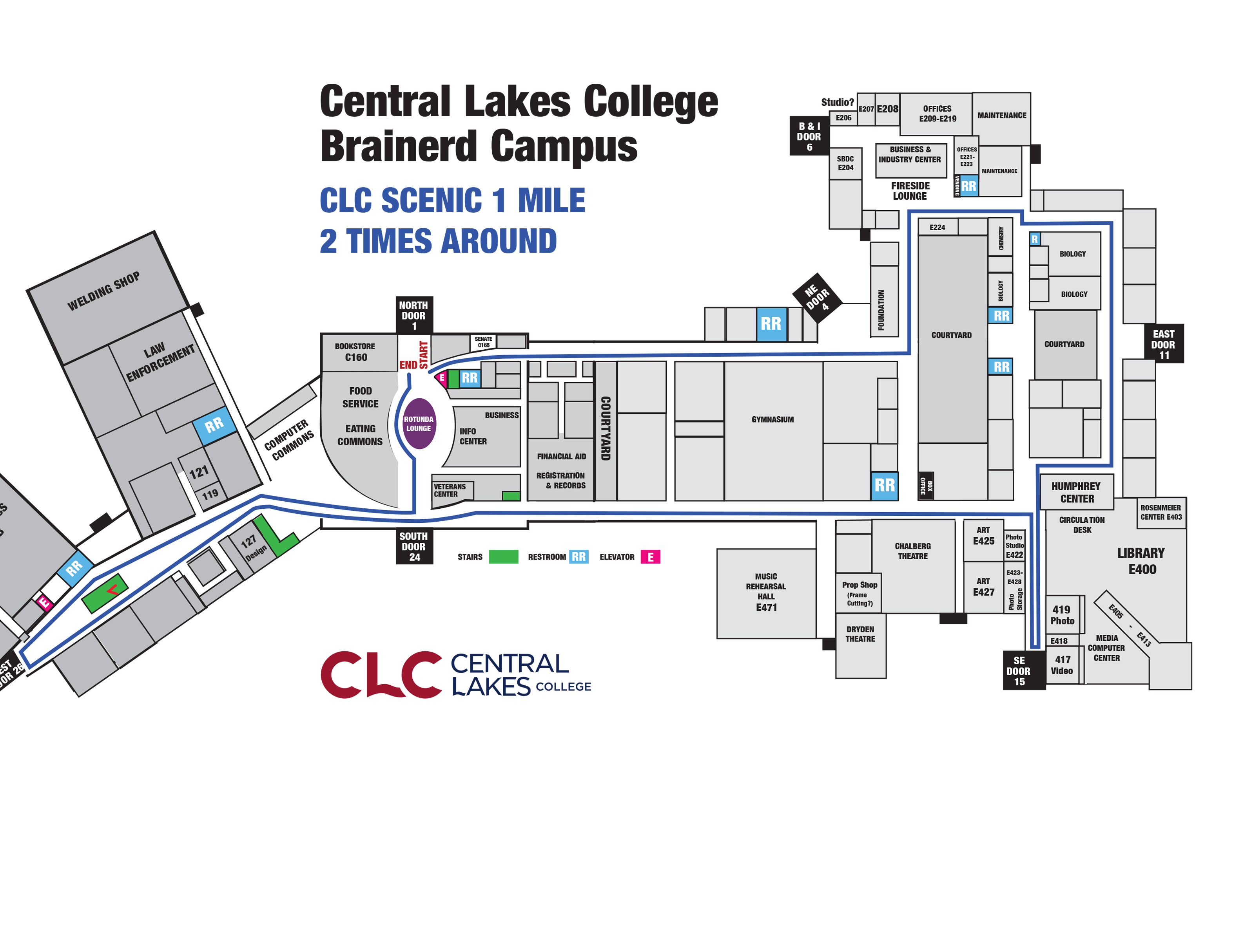 The CLC Mile – Central Lakes College